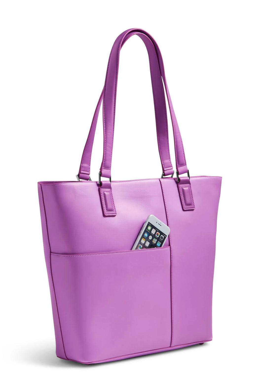 Vera Bradley Lilac Composition Tote - Front Full Image