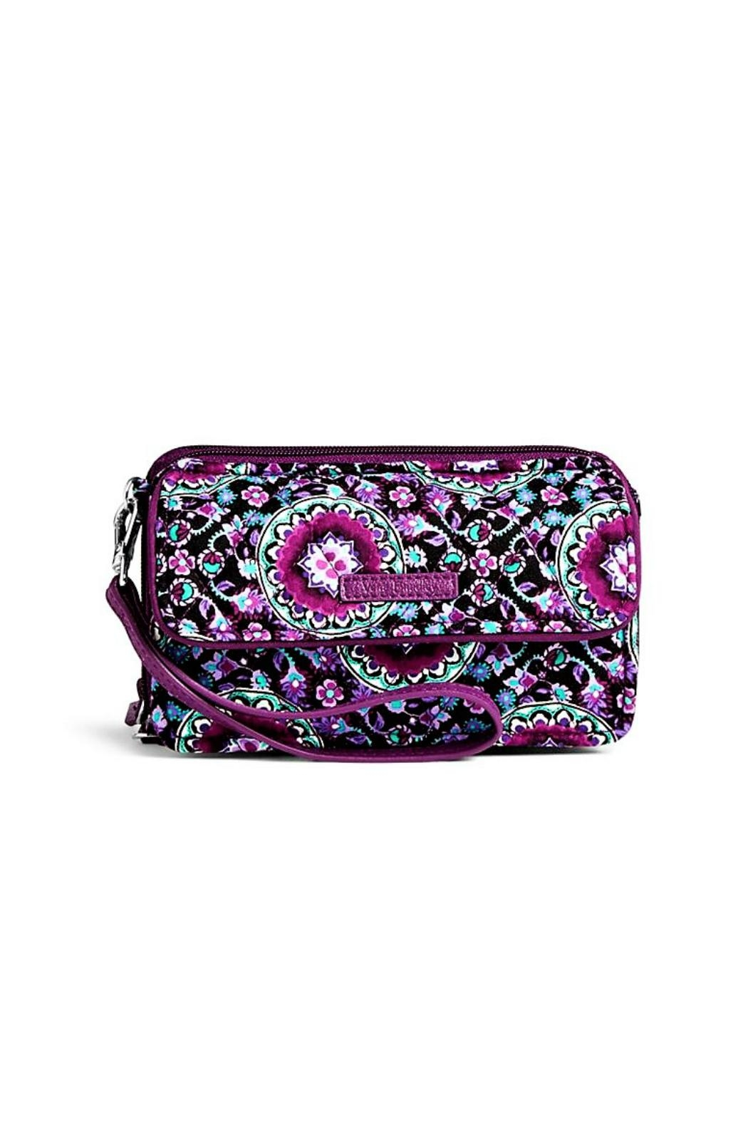 Vera Bradley Lilac All In One - Front Cropped Image
