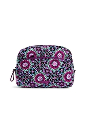 Vera Bradley Lilac Medallion Cosmetic Pouch - Product Mini Image