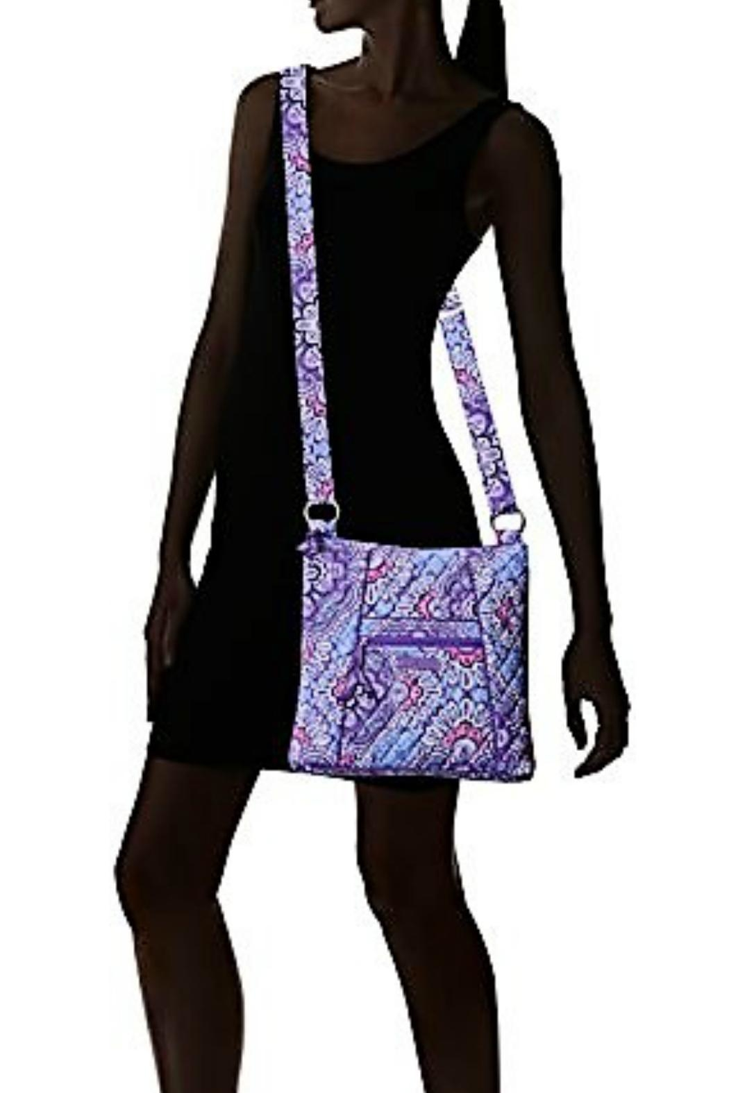 Vera Bradley Lilac Tapestry Hipster - Back Cropped Image
