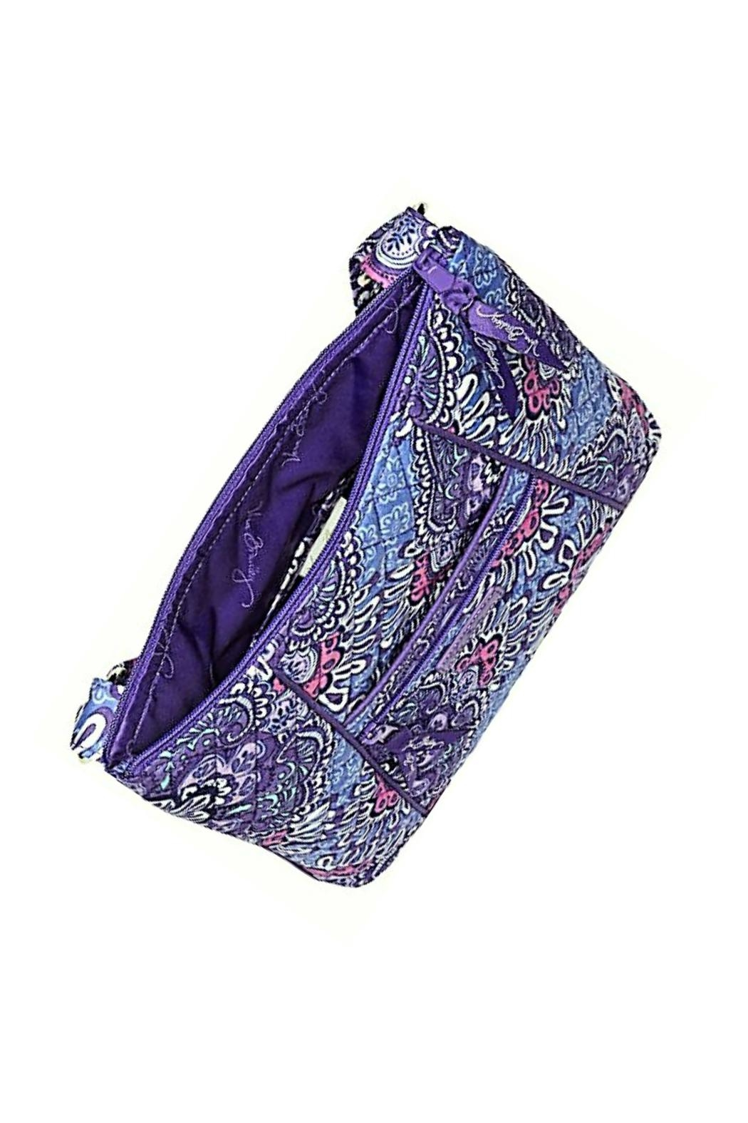 Vera Bradley Lilac Tapestry Hipster - Front Full Image