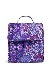 Vera Bradley Lilac Tapestry Lunch-Sack - Product Mini Image
