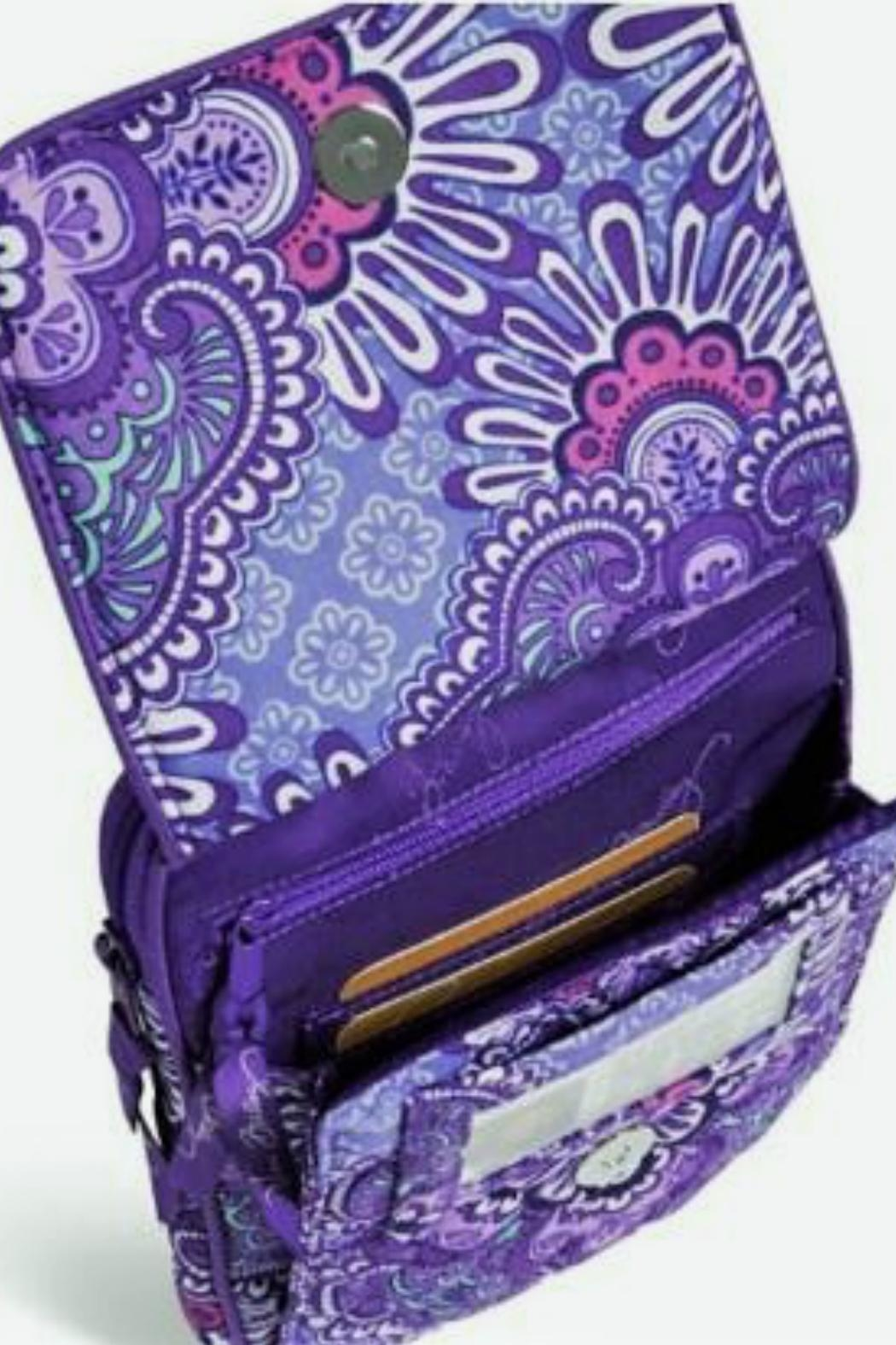 Vera Bradley Lilac Tapestry Mini-Hipster - Side Cropped Image