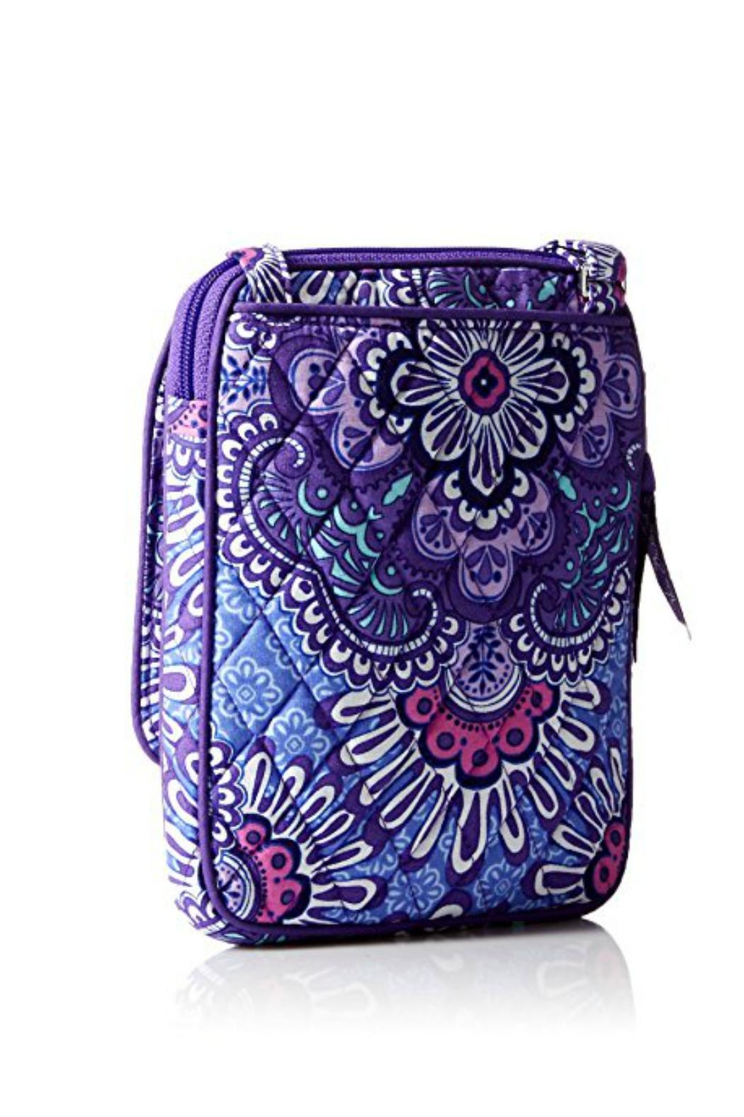 Vera Bradley Lilac Tapestry Mini-Hipster - Front Full Image