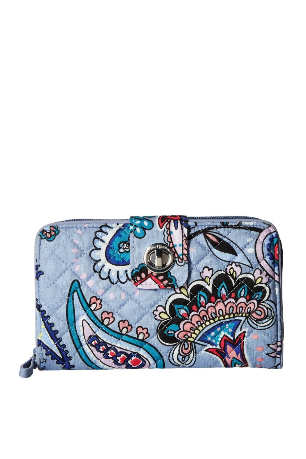 Vera Bradley Makani Paisley Turnlock - Front Cropped Image