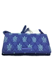 Vera Bradley Marine Turtles Wallet-Crossbody - Front cropped
