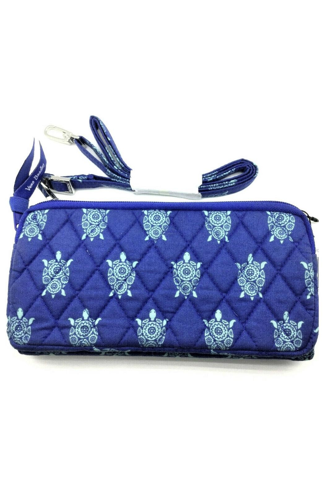 Vera Bradley Marine Turtles Wallet-Crossbody - Front Full Image