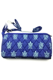 Vera Bradley Marine Turtles Wallet-Crossbody - Front full body