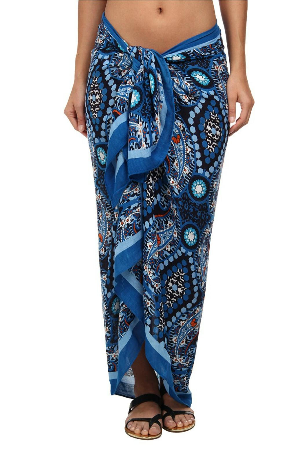 Vera Bradley Marrakesh Oversized Scarf/sarong - Front Cropped Image