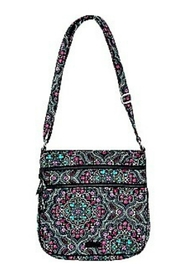 Vera Bradley Mickey Medallions Triple-Zip - Front full body