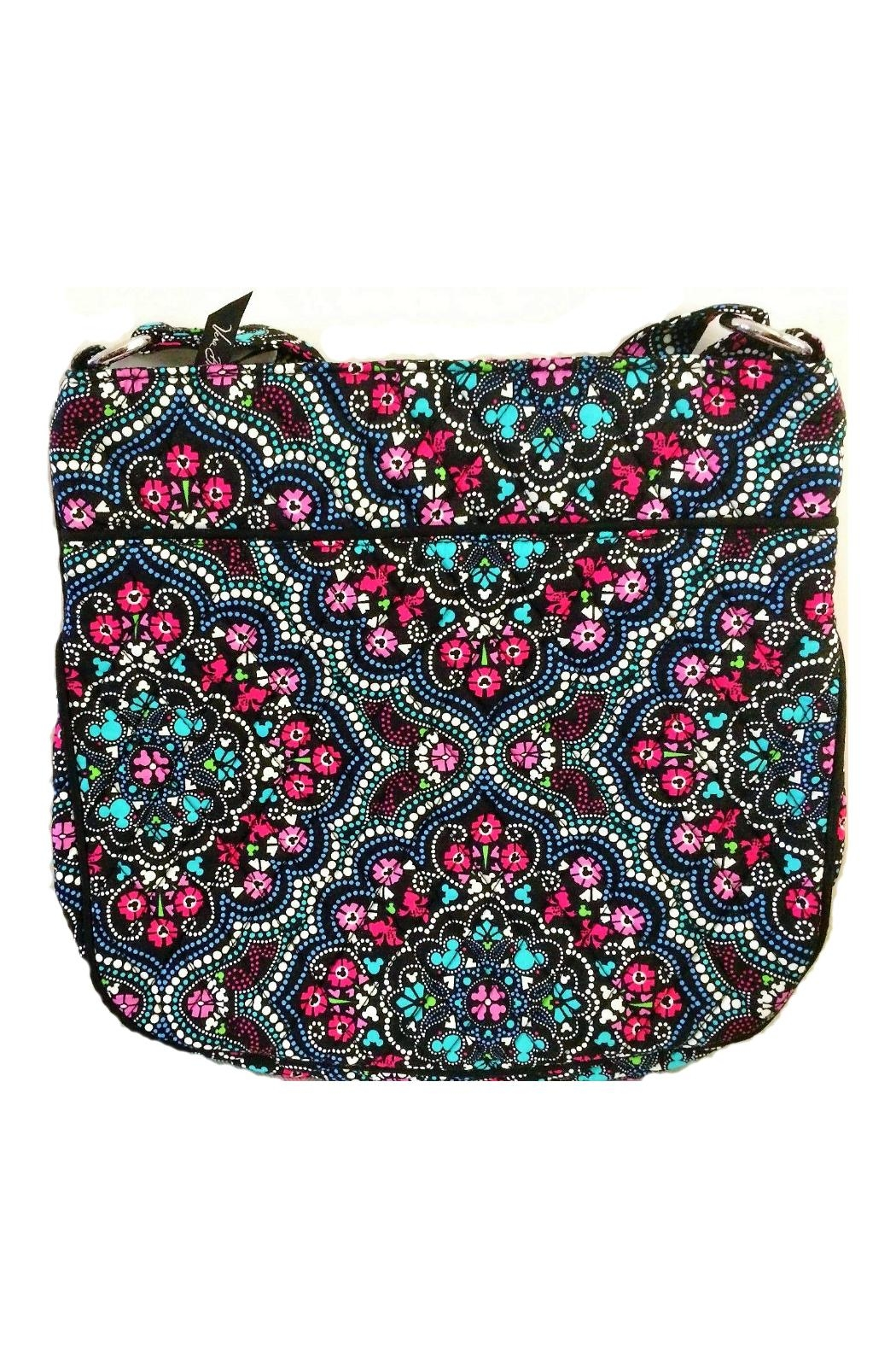 Vera Bradley Mickey Medallions Triple-Zip - Side Cropped Image