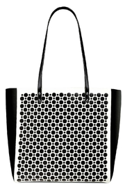 Vera Bradley Midnight-Geo Laser Tote - Product Mini Image