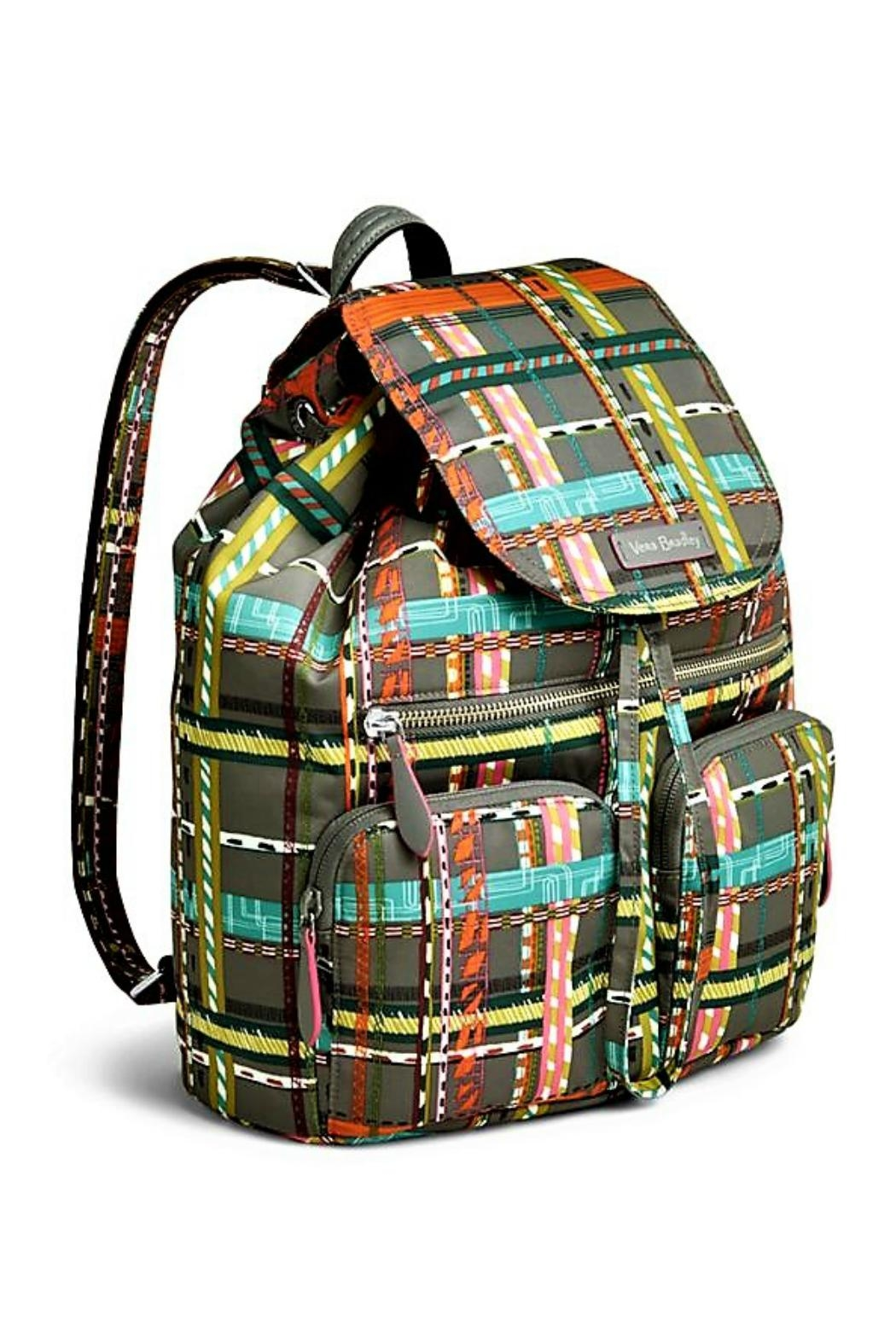 Vera Bradley Midtown Cargo Backpack - Front Full Image