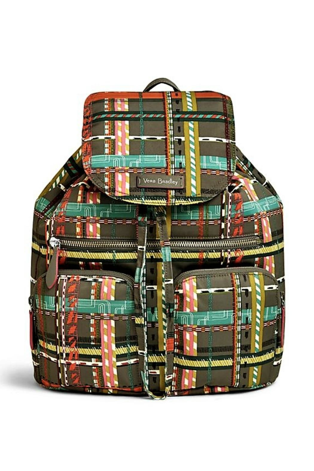 Vera Bradley Midtown Cargo Backpack - Front Cropped Image