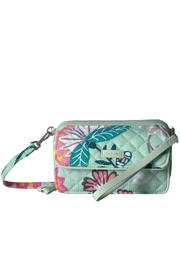 Vera Bradley Mint Flowers All In One - Product Mini Image