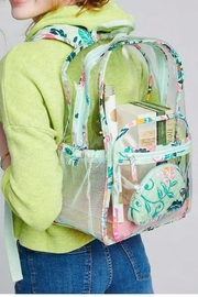 Vera Bradley Mint Flowers Large-Clearly-Colorful - Front full body