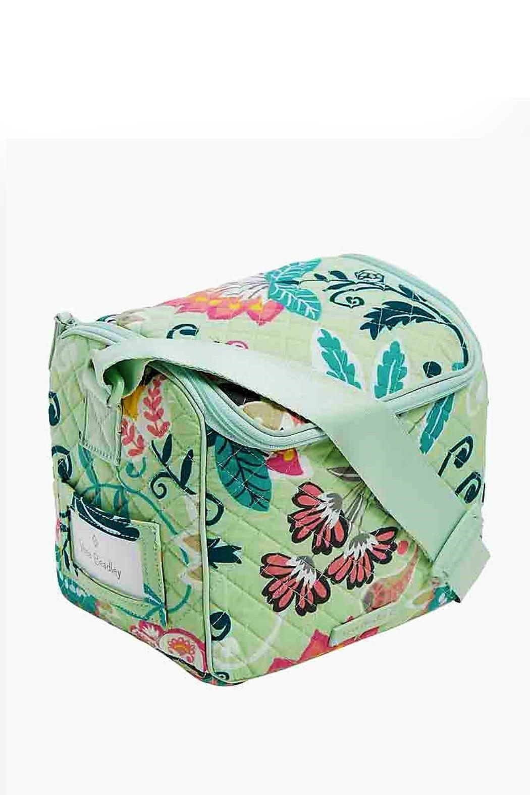 Vera Bradley Mint Flowers Lunch-Cooler - Side Cropped Image