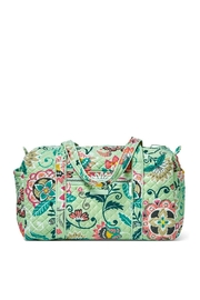 Vera Bradley Mint Flowers Small-Duffel - Product Mini Image
