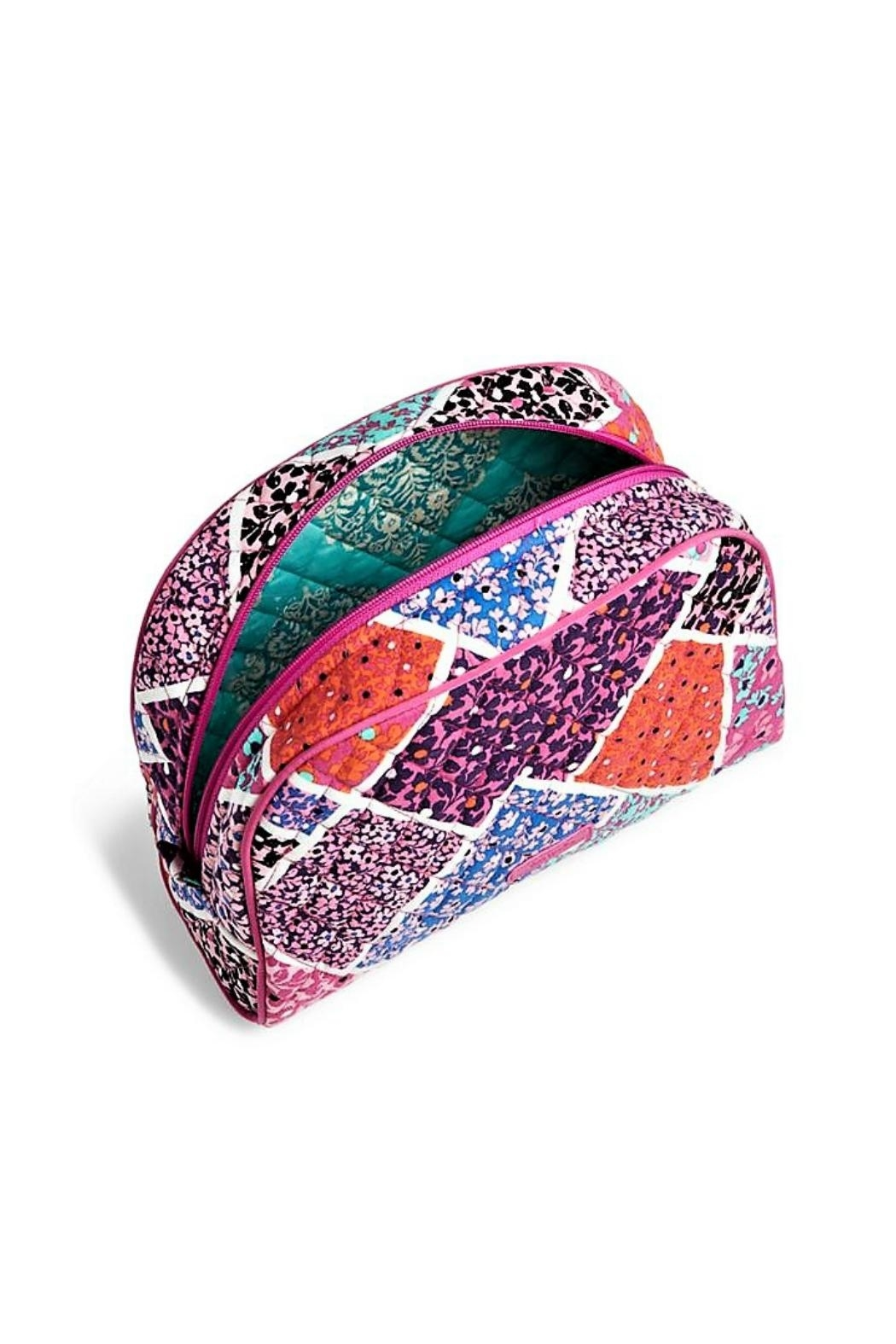 Vera Bradley Modern Medley Cosmetic Pouch - Front Full Image