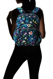Vera Bradley Moonlight Garden Campus-Backpack - Back cropped