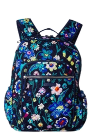 Vera Bradley Moonlight Garden Campus-Backpack - Front cropped