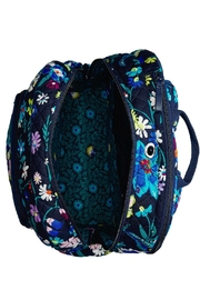 Vera Bradley Moonlight Garden Campus-Backpack - Side cropped