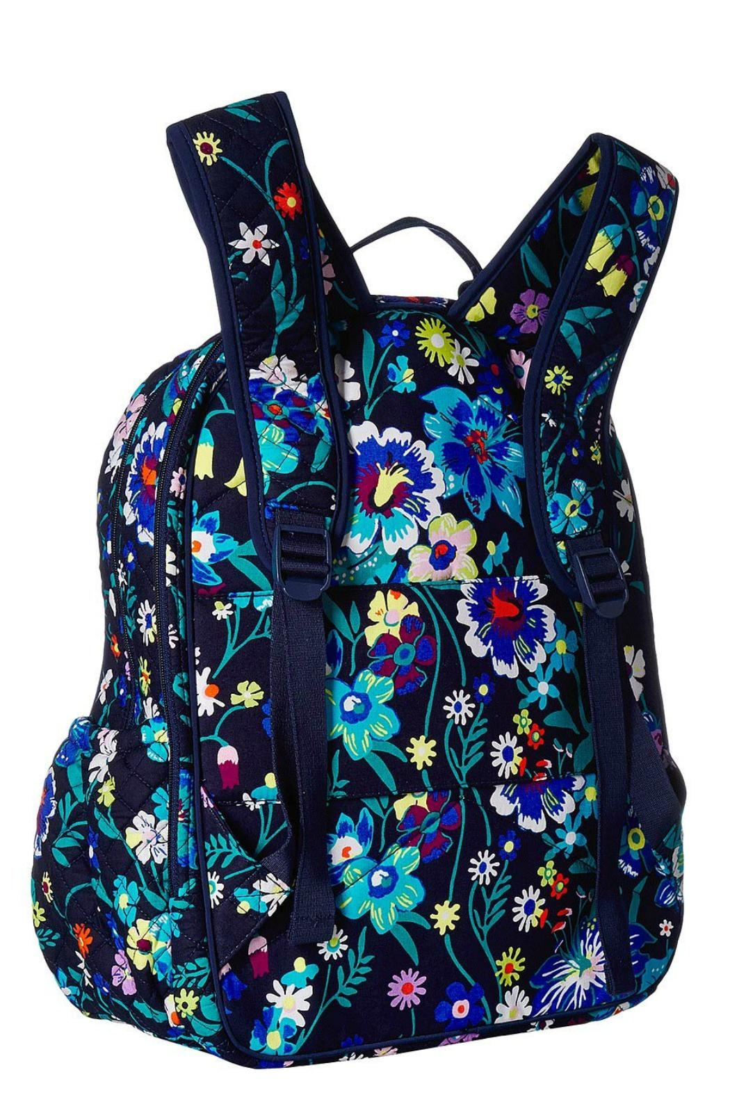 Vera Bradley Moonlight Garden Campus-Backpack - Front Full Image