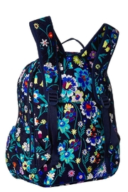 Vera Bradley Moonlight Garden Campus-Backpack - Front full body
