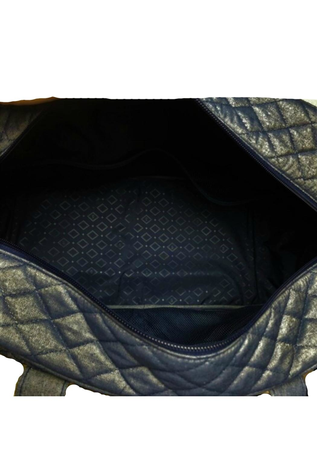Vera Bradley Moonlight Navy Compact-Traveler - Front Full Image