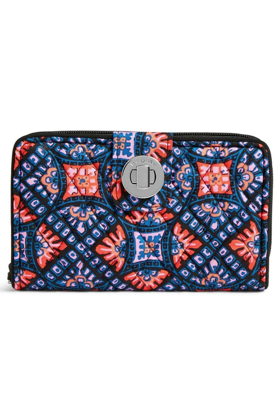 3bab31e0ba Vera Bradley Mosaic Rfid Turnlock from Kentucky by Mimi s Gift ...