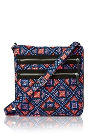 Vera Bradley Mosaic Triple-Zip Hipster - Front cropped
