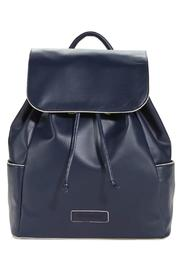 Vera Bradley Navy Drawstring Backpack - Product Mini Image