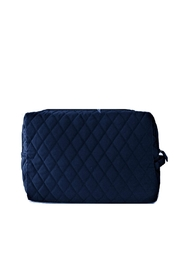 Vera Bradley Navy Large Cosmetic - Front full body