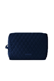 Vera Bradley Navy Large Cosmetic - Front cropped