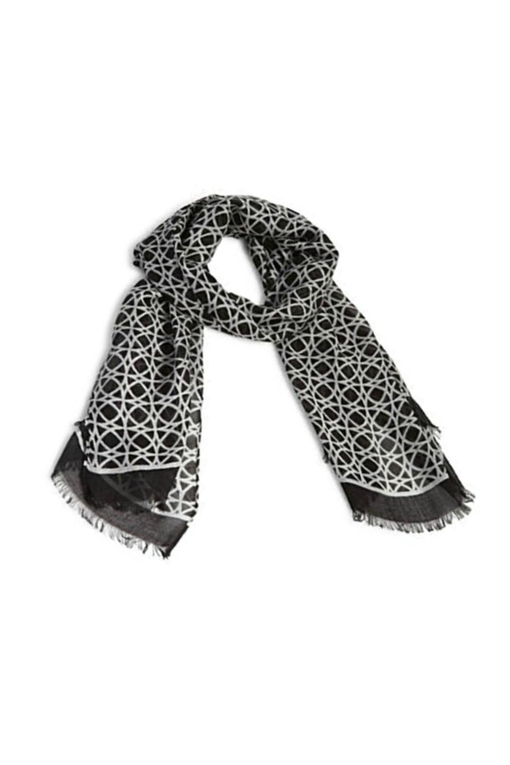 Vera Bradley Night-&-Day Geo Scarf - Front Cropped Image