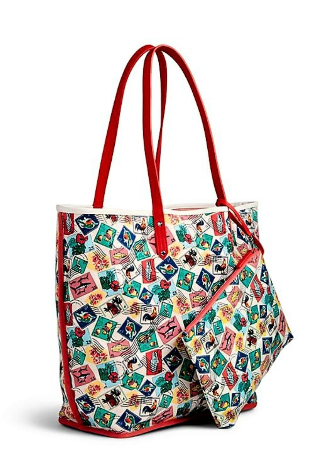 Vera Bradley Oxford Floral Tote - Front Full Image