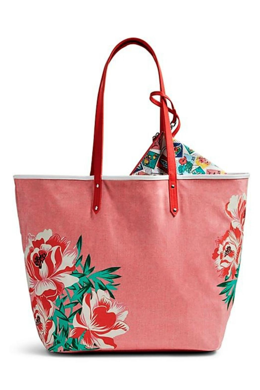 Vera Bradley Oxford Floral Tote - Front Cropped Image