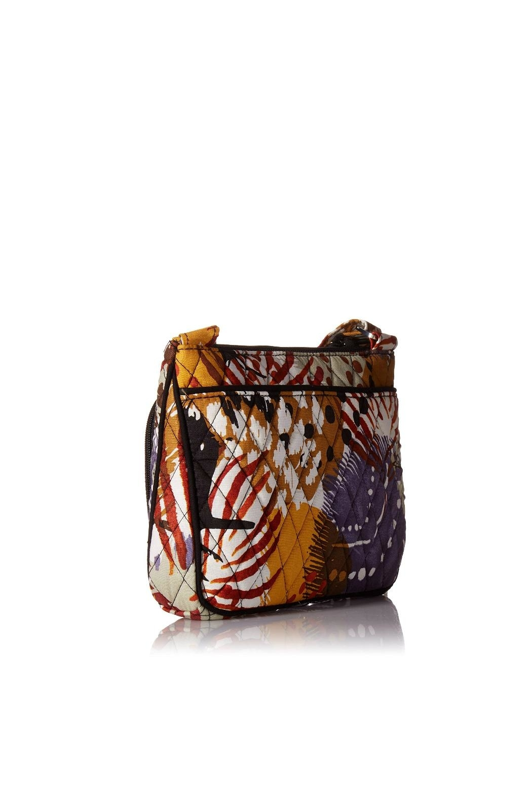 Vera Bradley Painted Feathers Little-Hipster - Front Full Image