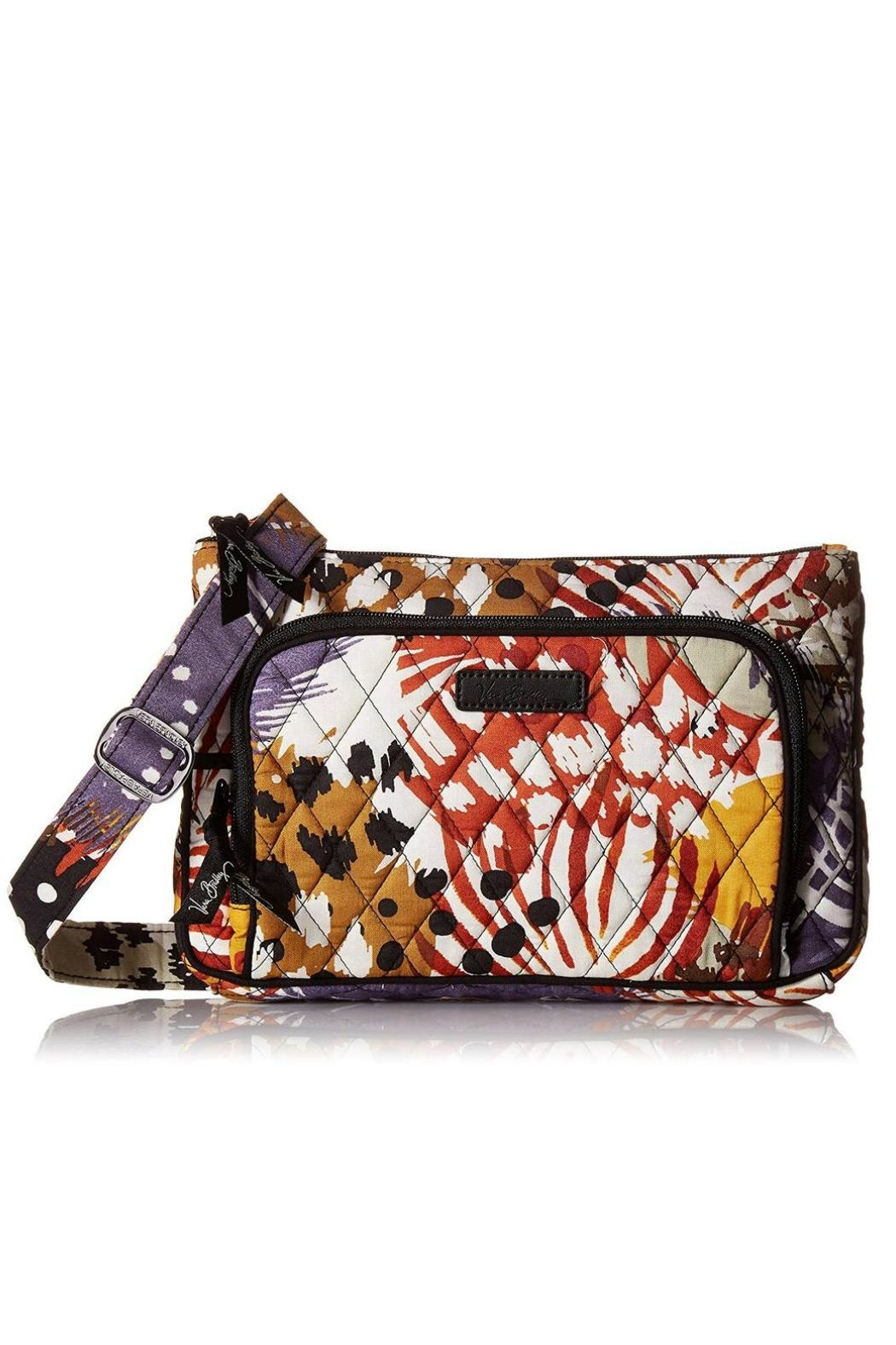 Vera Bradley Painted Feathers Little-Hipster - Main Image