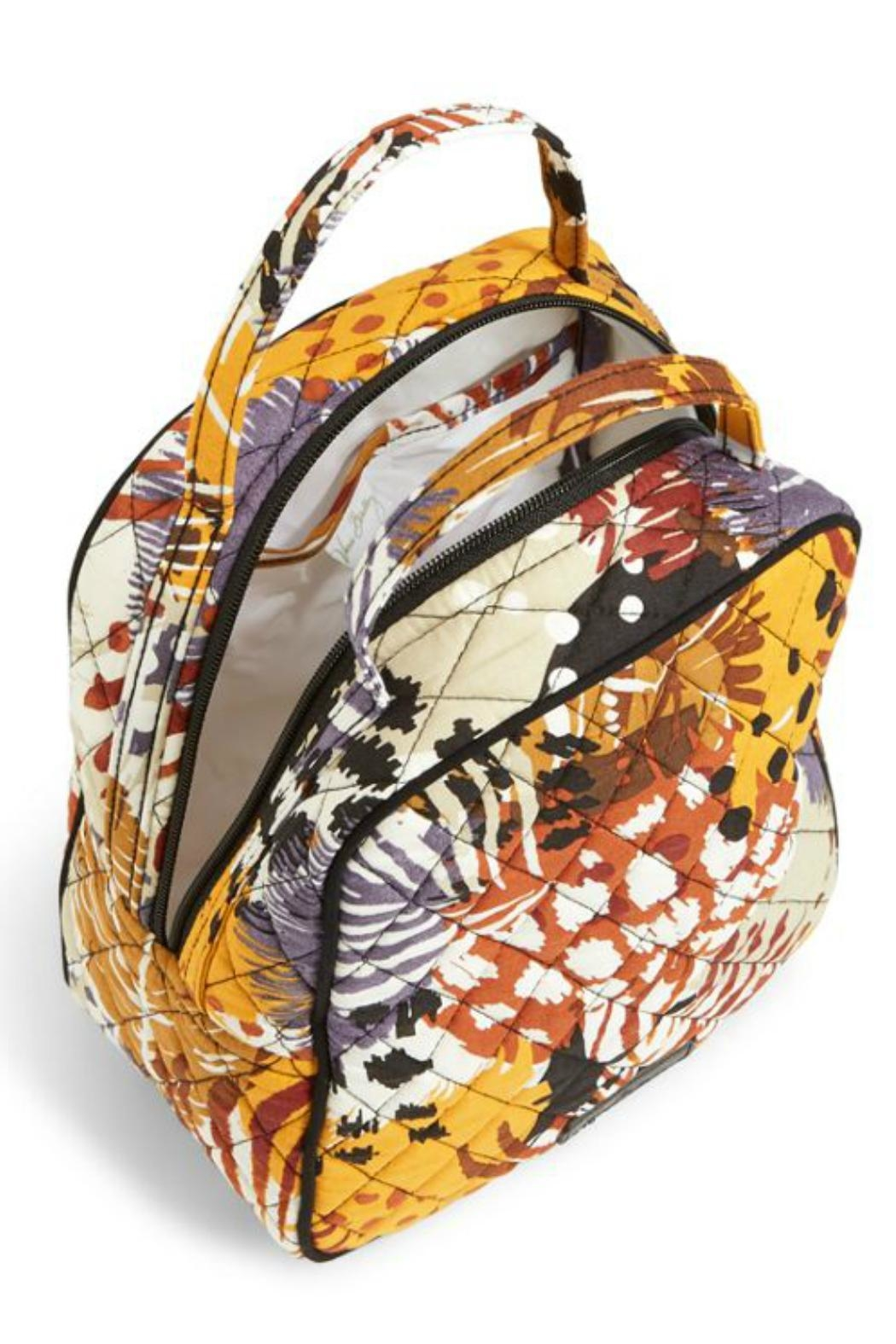 Vera Bradley Painted Feathers Lunch Bucket - Front Full Image