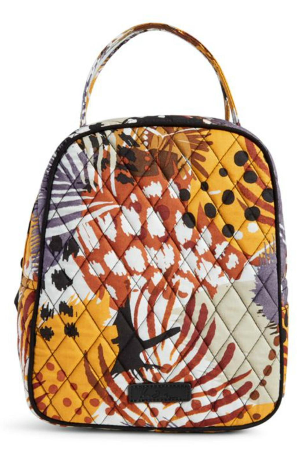 Vera Bradley Painted Feathers Lunch Bucket - Main Image