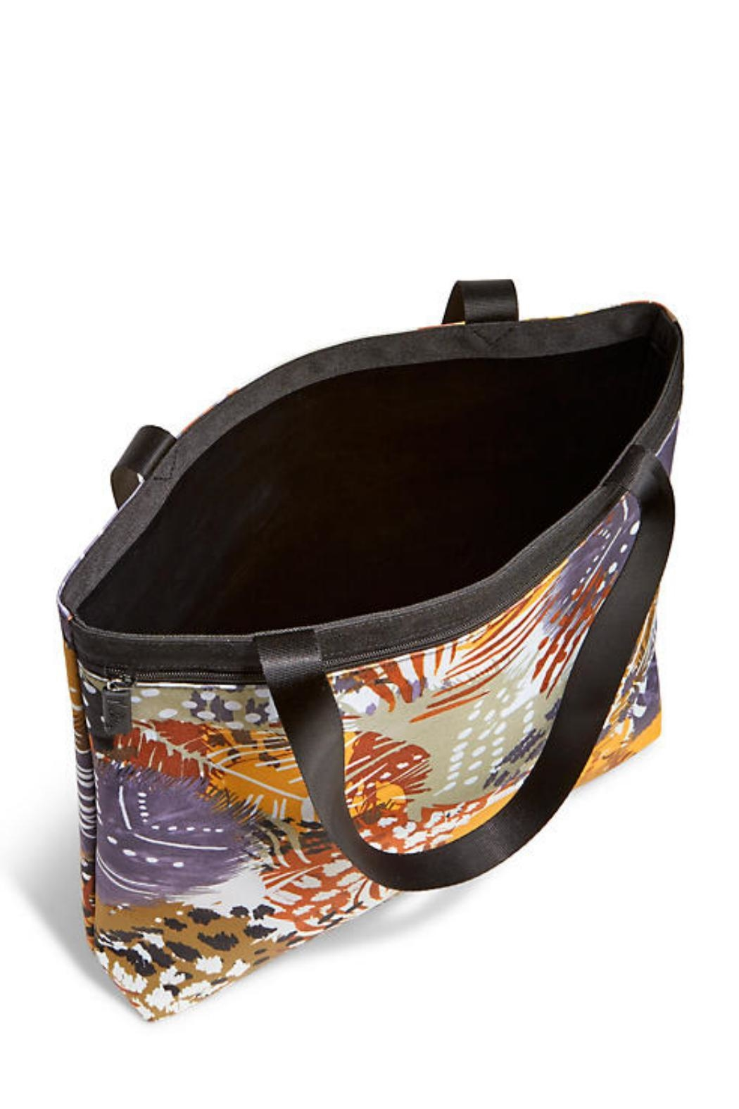 Vera Bradley Painted Feathers Tote - Side Cropped Image