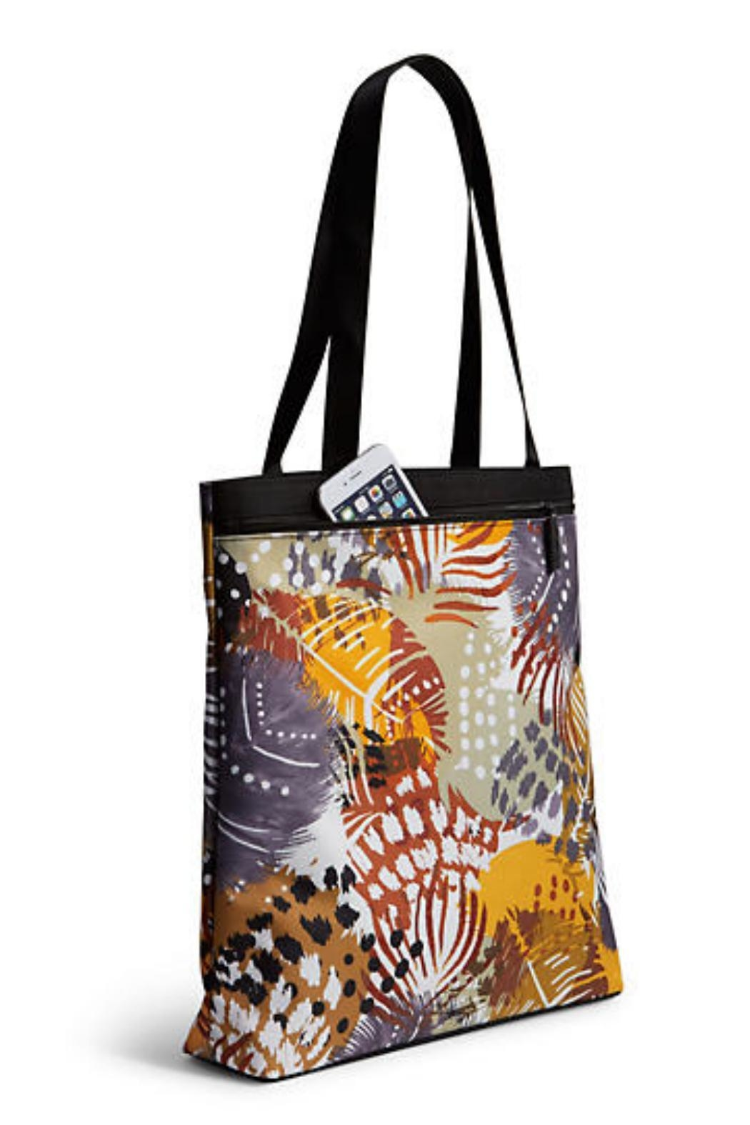 Vera Bradley Painted Feathers Tote - Front Full Image