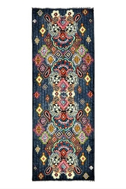 Vera Bradley Painted Medallions Scarf - Front full body