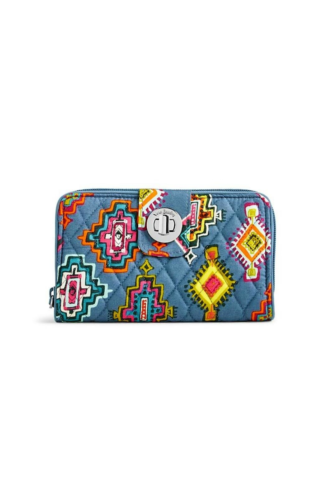 Vera Bradley Painted Medallions Wallet - Front Cropped Image