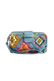 Vera Bradley Painted Medallions Wristlet - Front cropped