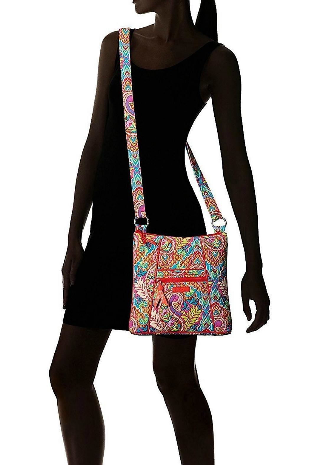 Vera Bradley Paisley-In-Paradise Hipster - Back Cropped Image