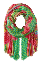 Vera Bradley Paisley In Paradise-Scarf - Front cropped