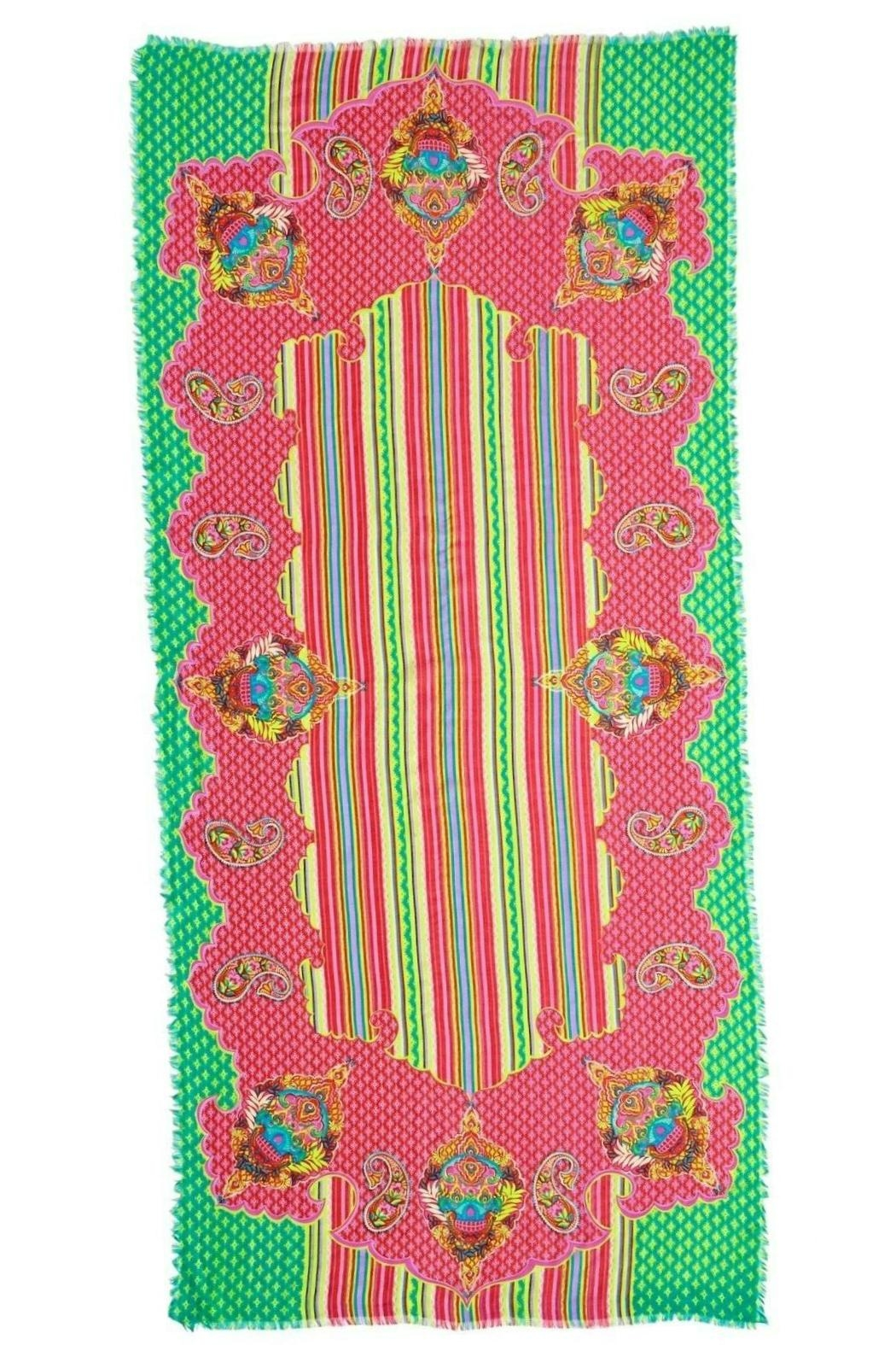 Vera Bradley Paisley In Paradise-Scarf - Front Full Image