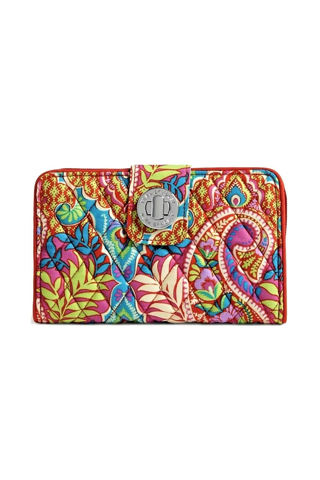 Vera Bradley Turnlock Wallet - Front Cropped Image